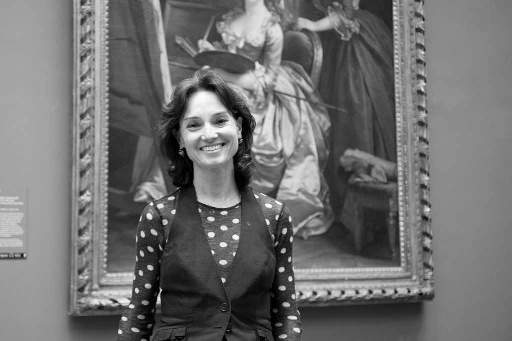 This is Carrie Rebora Barratt, associate director of the Met Museum, who especially likes small, even tiny works of art.