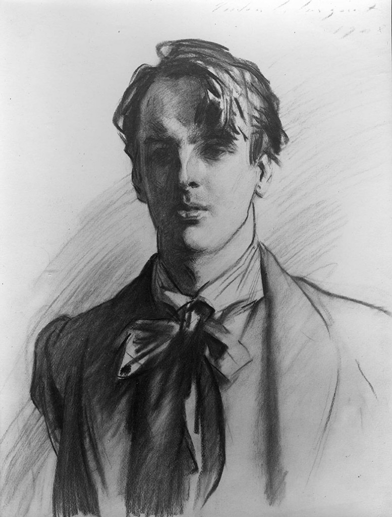 This Sargent sketch in charcoal of W B Yeats, recognized as Ireland's finest poet at the age of forty, shows all the inspiration that Sargent found in his friends among distinguished contemporaries in the arts.  The Met show has a huge abundance of examples in its new show Sargent: Portraits of Artists and Friends