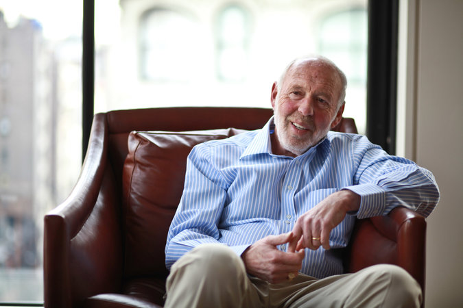 James Simons, at $1.6 billion, was the nation's best-paid hedge fund manager last year, according to Institutional Investor's Alpha magazine. Credit Fred R. Conrad/The New York Times